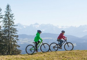 KU-Bikes in den Bergen