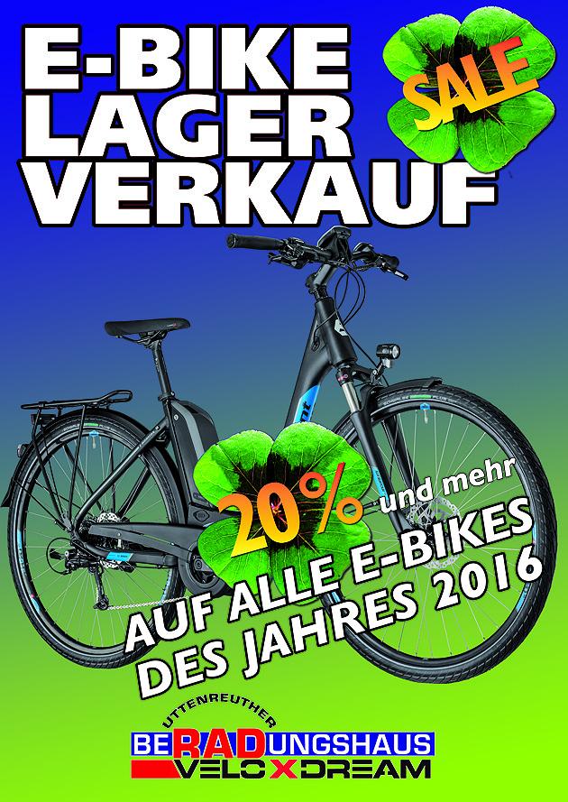 Lagerverkauf E-Bikes