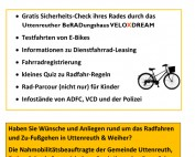 Uttenreuther Rad-Aktionstag