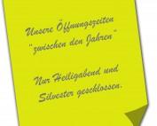 Oeffnungszeiten Post it